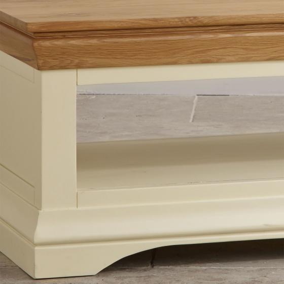 Bàn sofa Canary gỗ sồi - Cozino