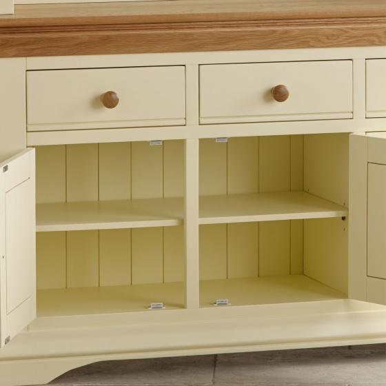 Tủ bếp lớn Canary gỗ sồi - Cozino