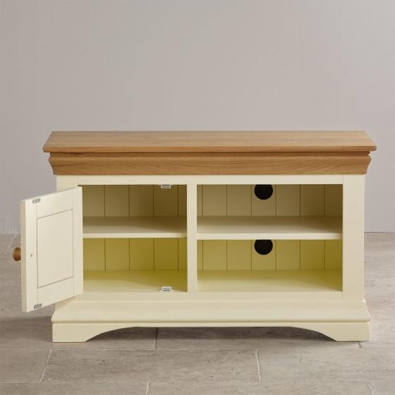 Tủ tivi nhỏ Canary gỗ sồi - Cozino