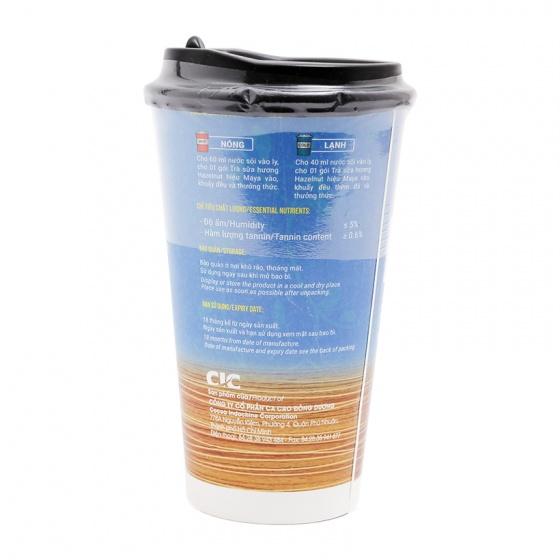 Trà sữa hương Hazelnut ly giấy - Cocoa Indochine