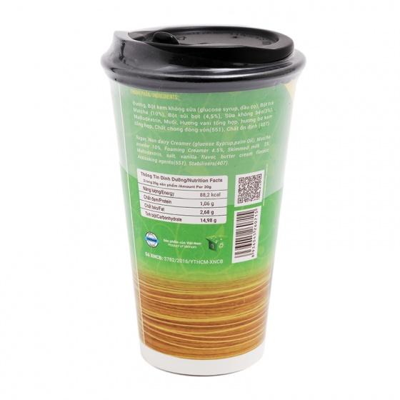Trà sữa hương Matcha Latte ly giấy - Cocoa Indochine
