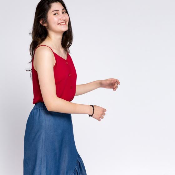Váy maxi demin Hity SKI026 (demin)
