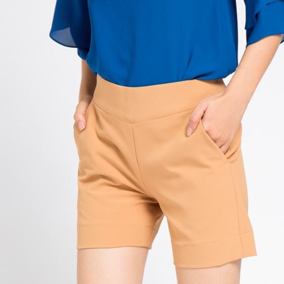 Quần shorts Hity PAN026 (da camel)
