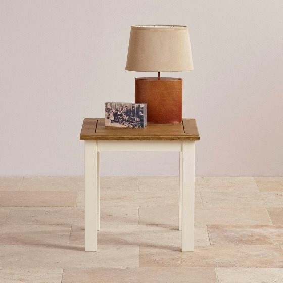 Bàn góc Chillon gỗ sồi - Cozino