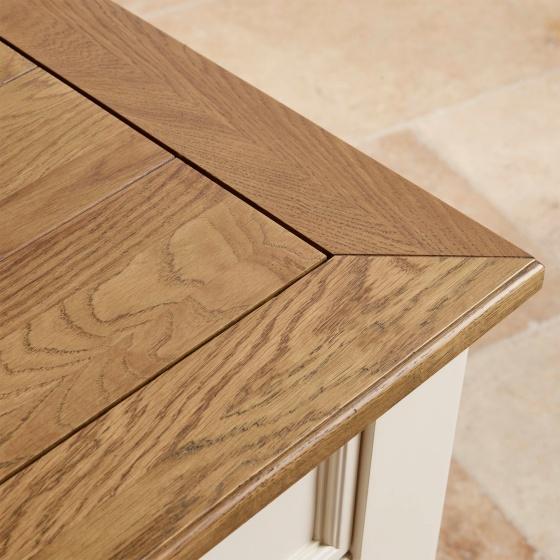 Tủ chén nhỏ Chillon gỗ sồi - Cozino