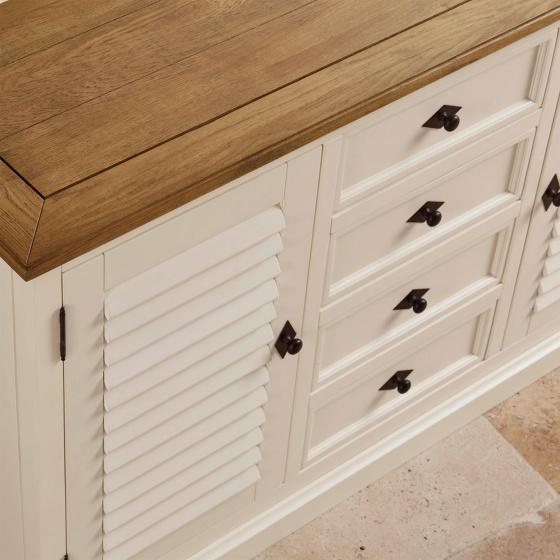 Tủ bếp lớn Chillon gỗ sồi - Cozino
