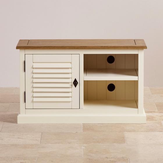 Tủ tivi nhỏ Chillon gỗ sồi - Cozino