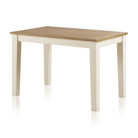 Bàn ăn 4 chỗ Chillon gỗ sồi (90x90cm) - Cozino