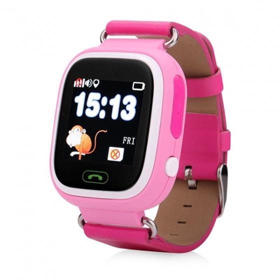 Đồng hồ định vị GPS trẻ em Wonlex GW100 (hồng)