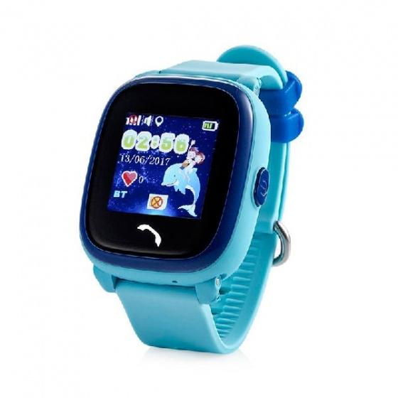 Đồng hồ định vị GPS Wonlex GW400S chống nước IP67 (xanh)