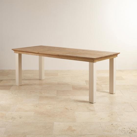 Bàn ăn 4 chỗ Sark gỗ sồi 1m4 (140x80cm) - Cozino