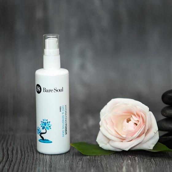 Combo Sữa rửa mặt & Nước hoa hồng nuôi dưỡng full size - Da khô và da nhạy cảm - Hydrating Cleanser & Toner Dry & Sensitive Skin