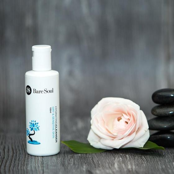 Sữa rửa mặt BareSoul – Da khô & da nhạy cảm 100 ml – HydratingCleanser Dry & Sensitive Skin