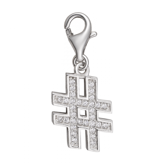 Hạt charm DIY PNJSilver hình nốt thăng XMXMK060116