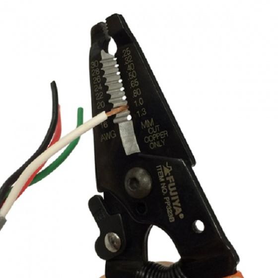 Kìm tuốt dây fujiya PP323B-165