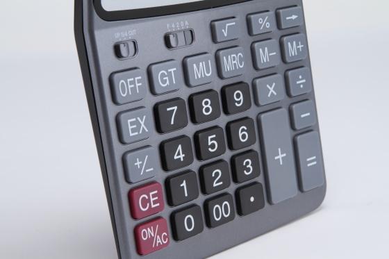 Combo 5 máy tính 12 số to rõ dễ bấm, dễ nhìn tự sạc pin cao cấp Texet DC-1205