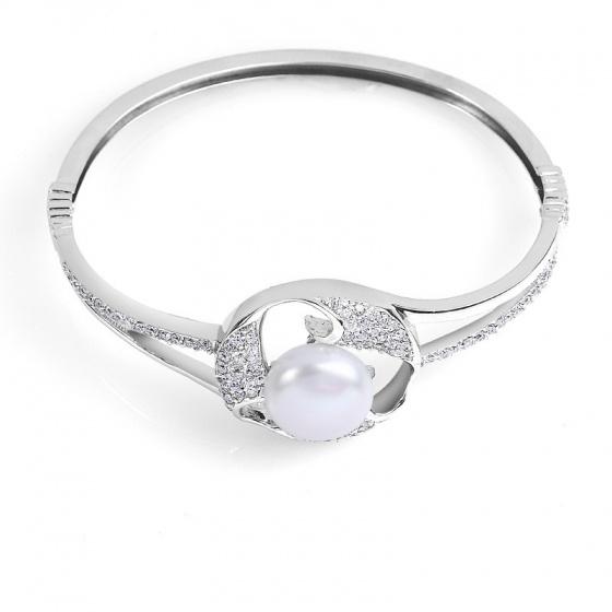Lắc tay bạc Nature Pearl Eropi