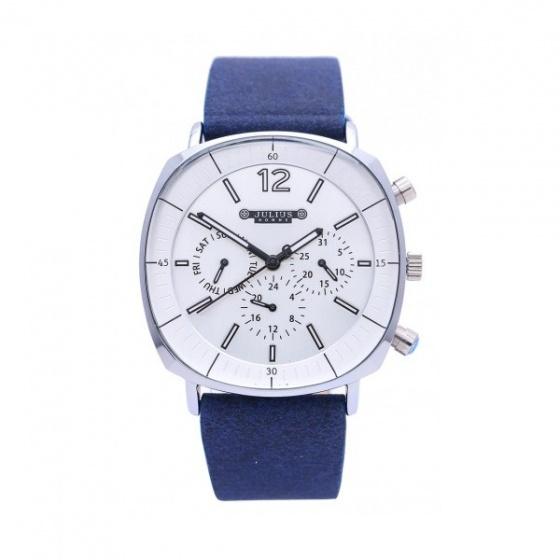 Đồng hồ Julius nam Hàn Quốc dây da JAH-098A