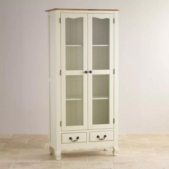 Tủ trưng bày Skye gỗ sồi 1m - Cozino
