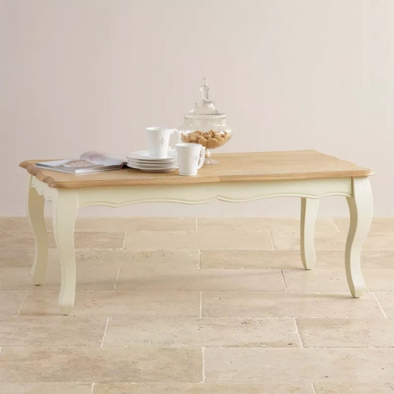 Bàn sofa Skye gỗ sồi - Cozino