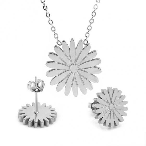 Bộ trang sức Titan hoa cúc Daisy - Tatiana - DT1069