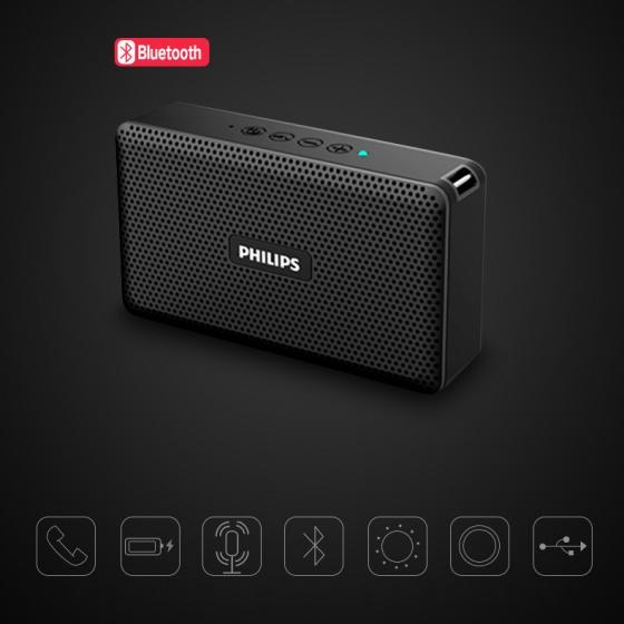 Loa Bluetooth Philips BT15/93 - Trải nghiệm âm thanh sống động, trung thực