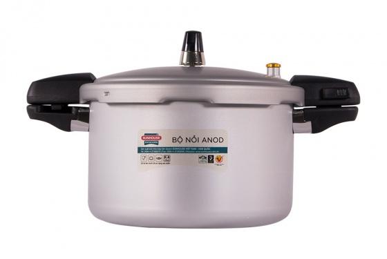Nồi áp suất anod Sunhouse SH9403 (bạc)