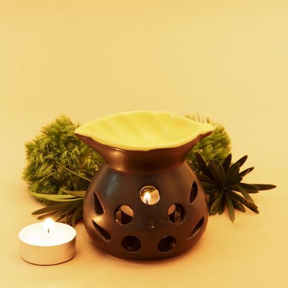 Đèn nến xông tinh dầu hình chiếc lá