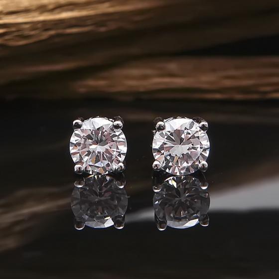 Bộ trang sức bạc Crystal Love