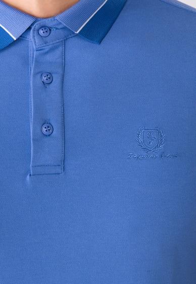 Áo polo nam Papka viền cổ (1078 xanh)