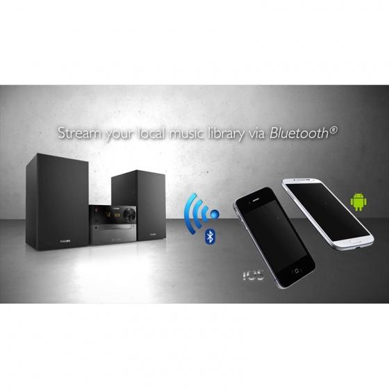Loa Philips BTM2310 HIFI/2.1(usb, Bluetooth,FM,CD) - Trải nghiệm âm thanh vòm trung thực