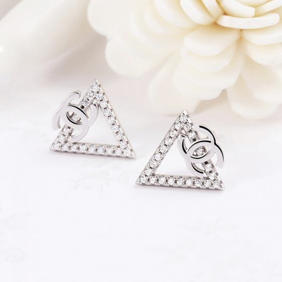 Bộ trang sức bạc Pediment Chanel