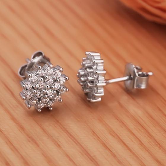 Bộ trang sức bạc Intex Flower