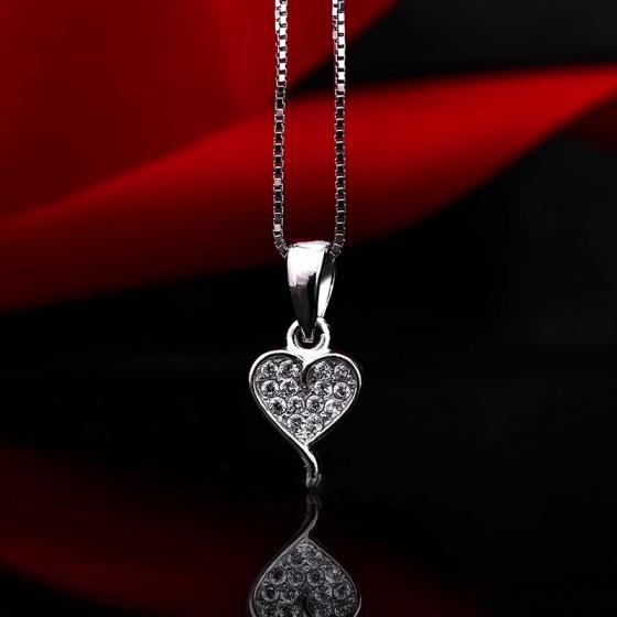 Bộ trang sức bạc Hadley Heart