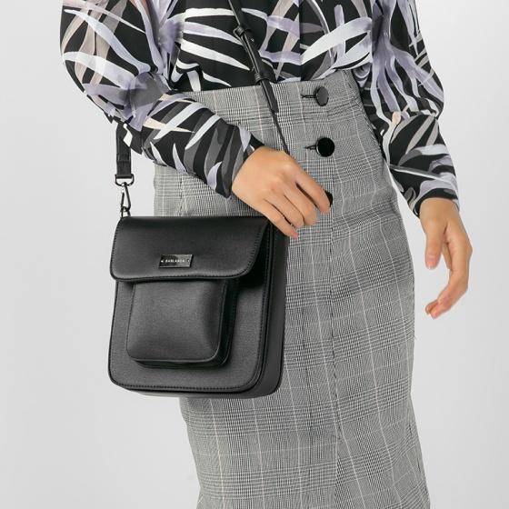 Túi đeo chéo thời trang (5051SD0025 - Đen)