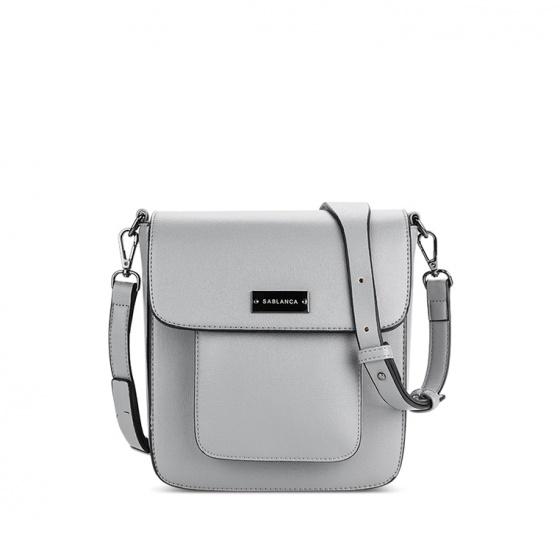 Túi đeo chéo thời trang (5051SD0025 - Xám)
