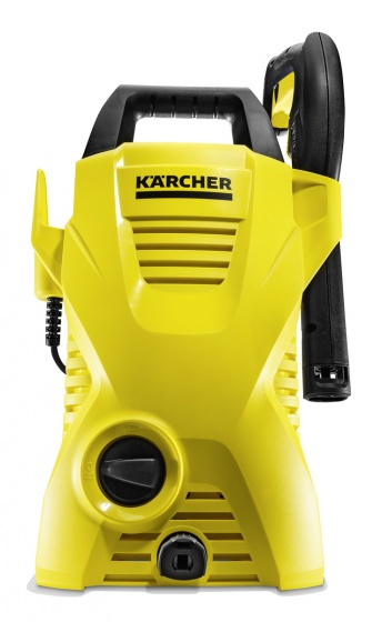 Combo máy phun rửa áp lực cao Karcher K2 Basic OJ và  bộ đầu chà và bình xịt