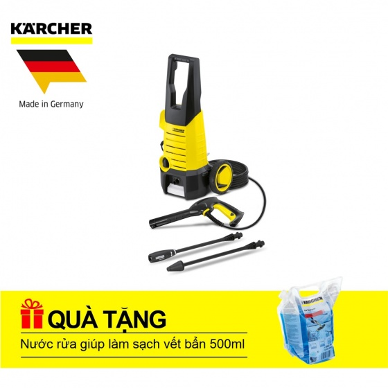 Máy phun rửa áp lực cao Karcher K2 360 (Tặng nước rửa 500 ml)