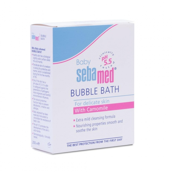 Sữa tắm tạo bọt dịu nhẹ cho bé Sebamed pH5.5 (500ml)