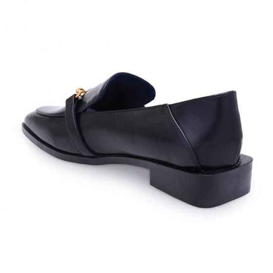 Giày tây cách điệu S17339 - đen
