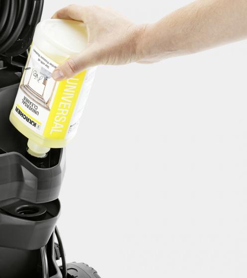 Combo máy phun rửa áp lực cao Karcher K5 và đầu phun tạo bọt FJ6