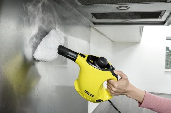Máy làm sạch bằng hơi nước SC 1 Premium (Tặng thanh là quần áo)