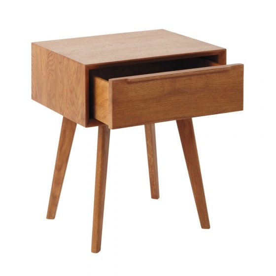 Tủ đầu giường Portobello gỗ tự nhiên- Cozino