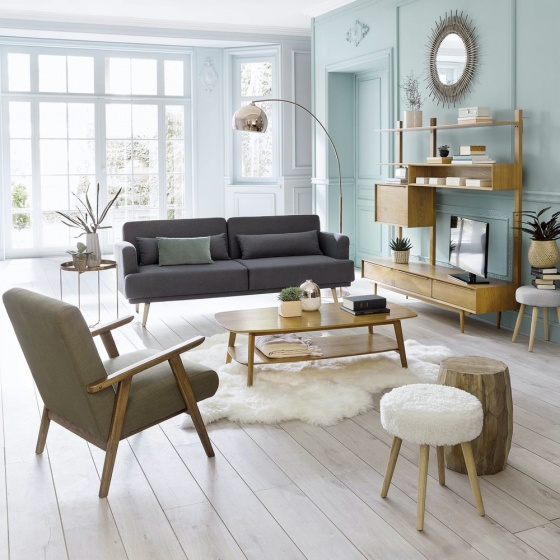 Bàn sofa Portobello gỗ tự nhiên- Cozino
