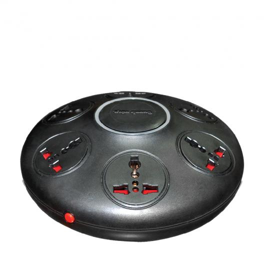 Ổ cắm Điện Quang ĐQ ESK.2B.106 (Kiểu UFO 6 lỗ 3 chấu dây 2 mét)