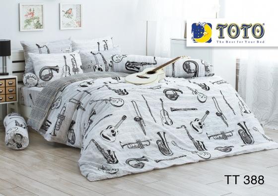 Bộ drap bọc nhập khẩu Thái Lan TOTO TT388 (180 x 200 cm)