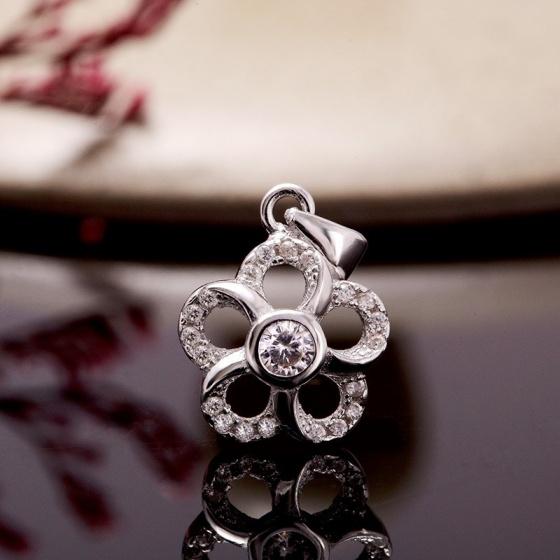 Bộ trang sức bạc Isabelle Flower