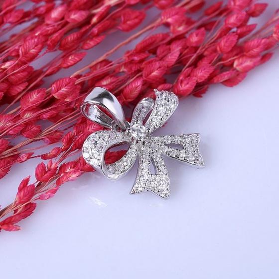 Bộ trang sức bạc Emmia Bow