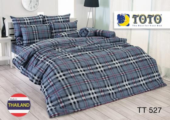 Bộ drap bọc nhập khẩu Thái Lan Toto TT527 (180 x 200 cm)