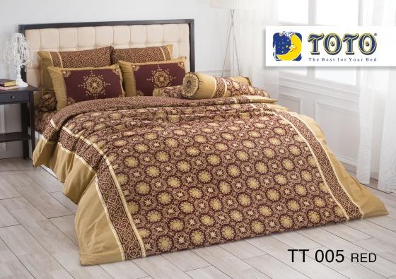 Bộ drap bọc nhập khẩu Thái Lan TOTO TT005R (180 x 200 cm)